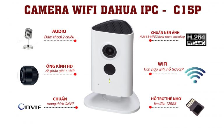 Camera dahua c15 wifi