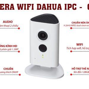 Camera dahua c15 wifi